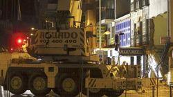 Desalojadas 43 personas por el desplome de un edificio en