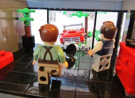 Escenas de película con Lego: recreaciones de clásicos de los 80