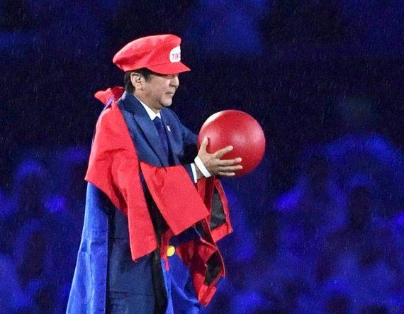 SuperMario protagoniza el momento álgido de la ceremonia de