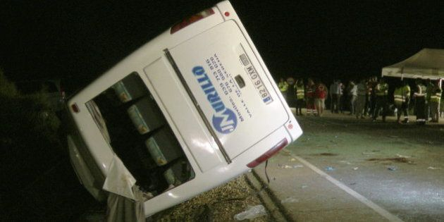 Accidente en Castuera (Badajoz): Cinco menores mueren en un accidente de