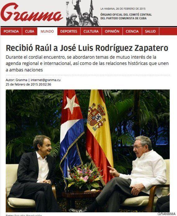 Zapatero con Castro en Cuba: Margallo habla de