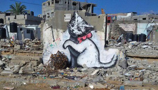 Banksy se infiltra en