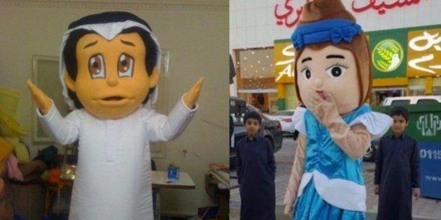 Un hombre disfrazado de princesa detenido por la 'policía religiosa' en Arabia