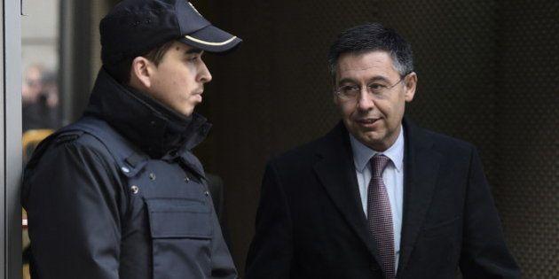 La Fiscalía de la Audiencia Nacional pide procesar a Bartomeu por el fichaje de