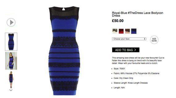El vestido de la discordia es azul y este vídeo lo