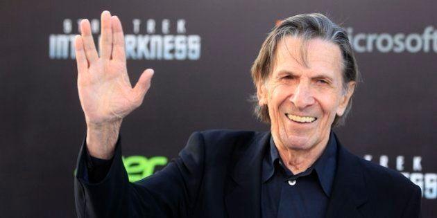 Muere Leonard Nimoy, el Sr. Spock de 'Star Trek', a los 83