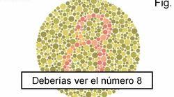 Test de daltonismo: el vídeo que triunfa tras la polémica del