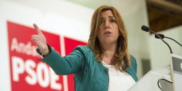 Susana Díaz necesitaría pactar para gobernar en Andalucía, según una encuesta de 'El