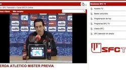 El título de este vídeo en la web del Sevilla