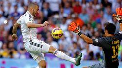 El Madrid golpea al