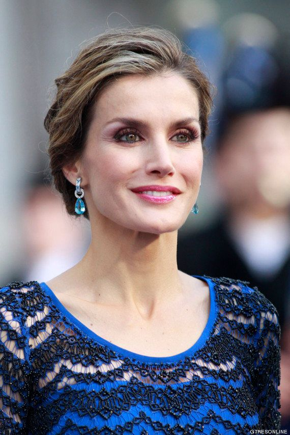 Vestido de Letizia en los Premios Príncipe de Asturias 2014: la reina elige a Varela