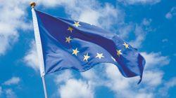 La bandera de la UE, a media asta