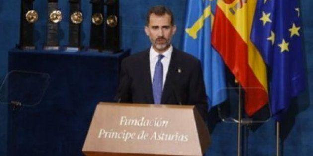 El rey apela a la unidad de España y recuerda que todos