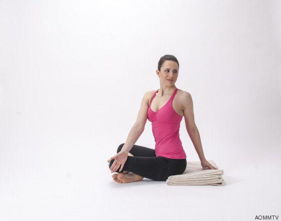 4 posturas para aliviar la tensión de las