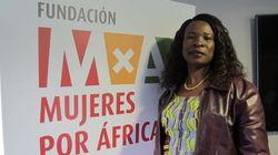 Un robot diseñado por una congoleña revoluciona las calles