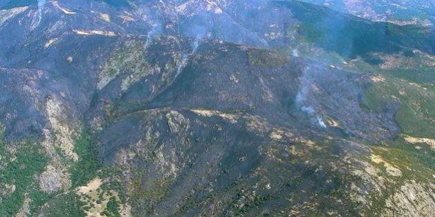 Mejora la situación del incendio de la Garganta de los Infiernos del Valle del