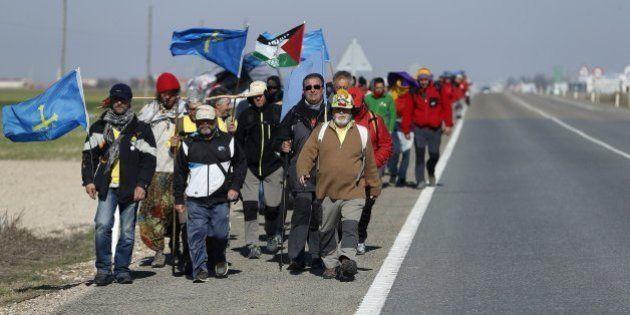 Marchas de la Dignidad del 22M: Las columnas quieren llenar Madrid de