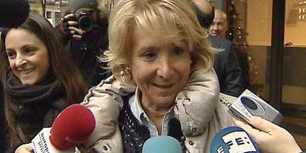 Aguirre reacciona a la detención de Francisco Granados con un sonoro