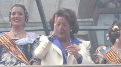 La nueva polémica de Rita Barberá por este gesto en Fallas