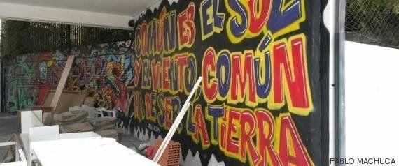 'La Atalaya', un centro juvenil levantado por chavales en un instituto abandonado de