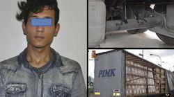 Un inmigrante viaja 400 kilómetros bajo un camión en