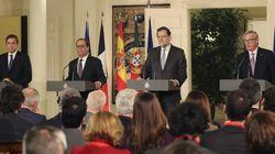 Rajoy, Hollande y Coelho reactivan el gasoducto entre Cataluña y
