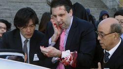 Agreden con una cuchilla al embajador estadounidense en Corea del