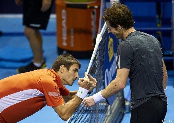 La curiosa reacción de Robredo tras perder frente a Murray