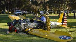 Se estrella la avioneta que pilotaba Harrison