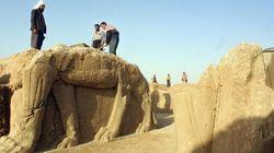 El Estado Islámico arrasa un palacio milenario asirio en