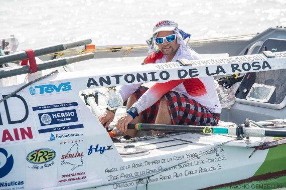 Españoles que han cruzado el Atlántico a remo: