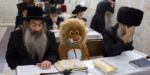 Los judíos celebran el Purim, su particular carnaval