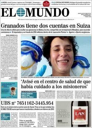 Revista de prensa 28-10-2014: Tocando