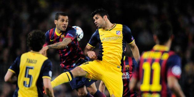 Barcelona y Atlético se jugarán la Liga en el último partido en el Camp