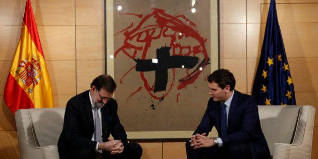 Ciudadanos pone el referéndum catalán como línea roja para