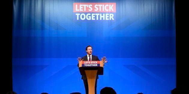 Cameron dice que la independencia de Escocia supondría
