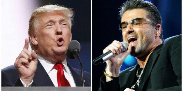 La diferencia entre George Michael y Donald Trump en sólo dos