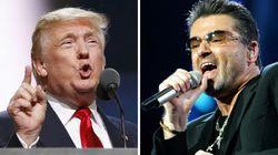 La diferencia entre George Michael y Donald Trump en dos