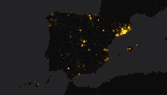 Así se vivieron las elecciones catalanas en