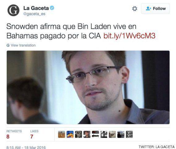 El bulo sobre Bin Laden que ha hecho partirse de risa a