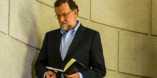 Rajoy, fascinado con 'Patria':