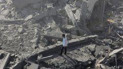Más de 10.000 palestinos, sin hogar por las bombas en Gaza (VÍDEO,