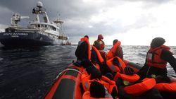 Varias ONG rescatan a unos 250 inmigrantes y refugiados en el