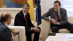 Rajoy confirma ante CC que se presentará a la