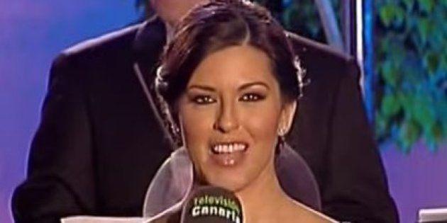 La presentadora de las campanadas canarias: