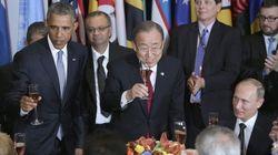 El menú de los líderes que acuden a la ONU contiene...