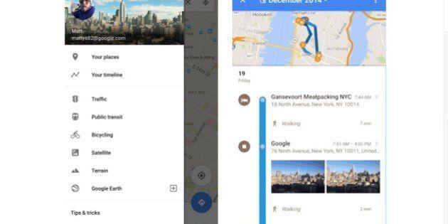 El gran hermano Google Maps te