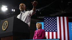 Obama aupa a Clinton como