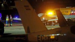 Dos hombres mueren calcinados al estrellarse una avioneta en Cuatro