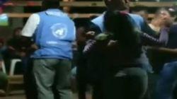 Escándalo en Colombia por el baile entre guerrilleras y observadores de la